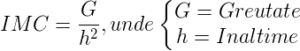 Formula_IMC